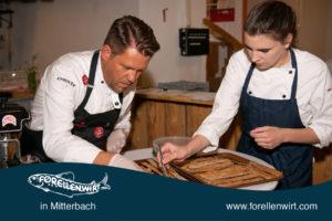 Mike Süßer beim Mühlviertlerisch Tafeln - Suppeneinlage