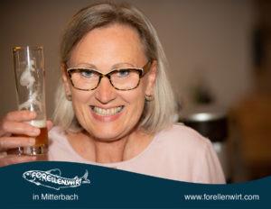 Annemarie, Freistädter Bier - beim Forellenwirt
