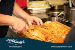 Anrichten Filet Wellington - Mühlviertlerisch Tafeln