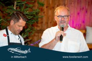 Mike Süßer und Tourismusobmann Christian Naderer