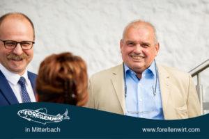 Karl Steinbeiß beim Mühlviertlerisch Tafeln 2018