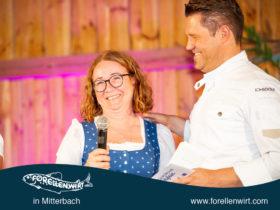 Feste Feiern Stadl Oberösterreich - Doris Kastler und Mike Süßer auf der Bühne