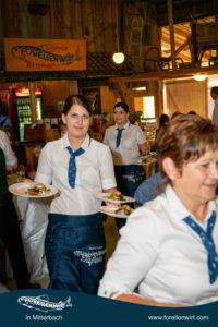 Top Service - Vorspeise Mühlviertlerisch Tafeln - Forellenwirt