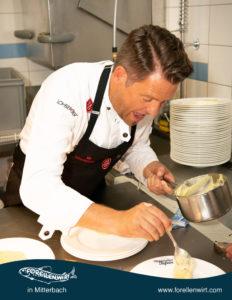 Mike Süßer in Action - beim Mühlviertlerisch Tafeln in Oberösterreich