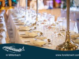 Location Hochzeit Freistadt Umgebung Mühlviertel - Forellenwirt in Mitterbach