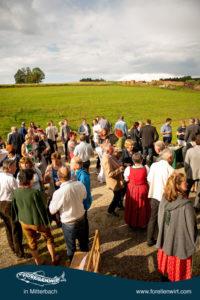 Begrüßung - Mühlviertlerisch Tafeln 2018 beim Forellenwirt in Mitterbach