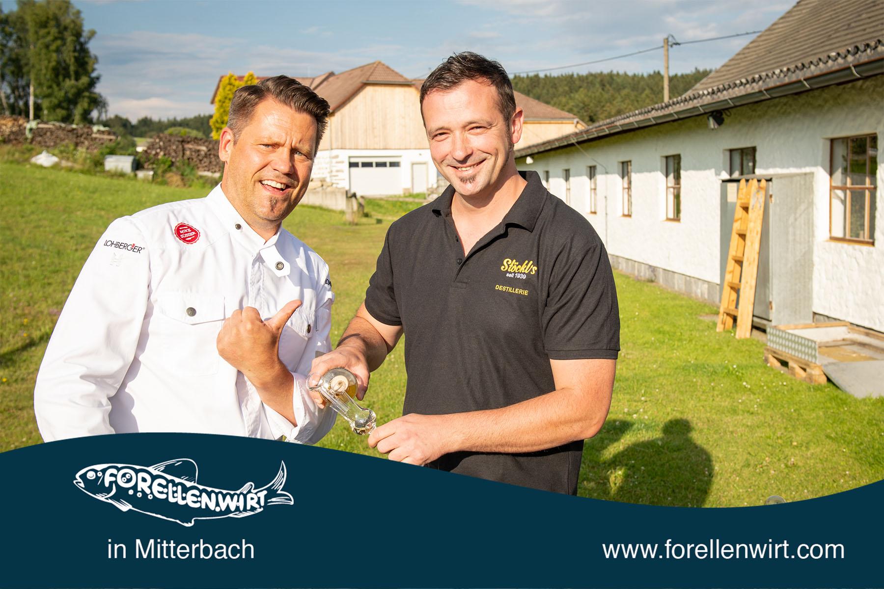 Mike Süßer und Christian Pirklbauer von Stöckl's Destillerie