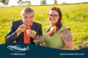 Winzer Waldschütz und Katrin Pesendorfer von The Herbal Nerd