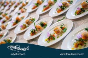 Vorspeisenteller - Mühlviertlerisch Tafeln