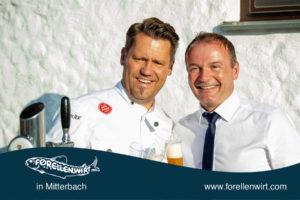 """Auch Mike Süßer schmeckt """"unser"""" Freistädter Bier"""