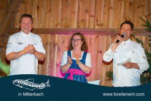 Karlheinz Pernausl, Doris Kastler und Mike Süßer