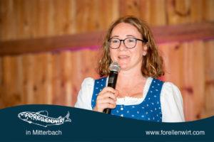 Doris Kastler, Forellenwirt in Mitterbach