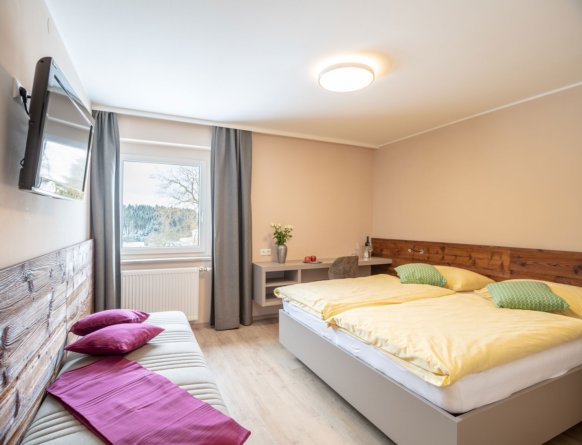 Hotel Freistadt Oberösterreich |Doppelzimmer | Nächtigen beim Forellenwirt in Mitterbach