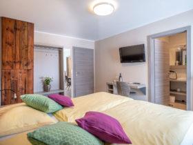 Hotelzimmer mit Bad, Balkon, Fernseher | Doppelzimmer | Gasthof Forellenwirt